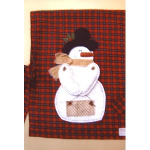 Apostila Snowman (capa para cadeira) (C&LC018)