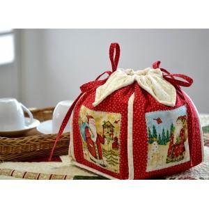 Porta-Panetone Papai Noel