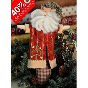 Papai Noel peso de Porta