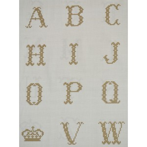 Alphabet Bronze (09016BRO)