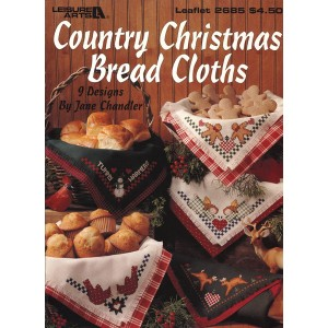 Country Christmas Bread Cloths (2685LA)