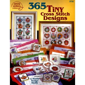 365 Tiny Cross Stitch Designs (3732ASN)