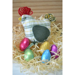 Galinha dos ovos de páscoa (kk/125)