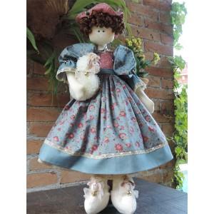 Boneca com Ovelha Marie