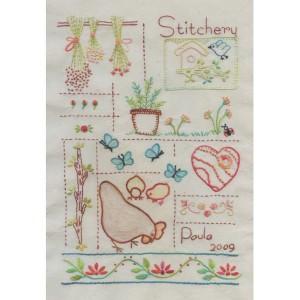 Bordado Stitchery - Intermediário