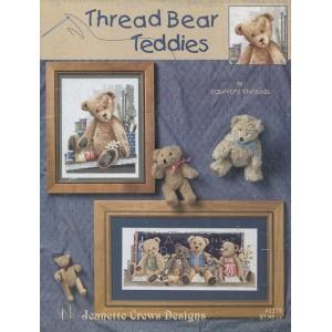 Thread Bear Teddies (1279)