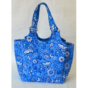 Bolsa Floral Azul – 3 aulas