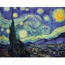 """Releitura Van Gogh """"Noite estrelada"""" (05/09)"""