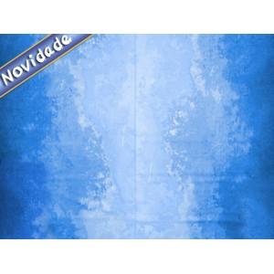 Tecido Marmorizado Azul (R240209) 1 metro