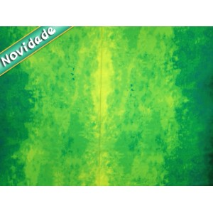 Tecido Marmorizado Verde (R244216) 1 metro