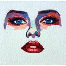 Patchwork Artístico - Rosto