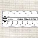 Régua para contar ponto cruz (00144)