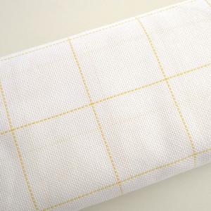 Etamine 11ct Branco/Amarelo (K4/XAM)