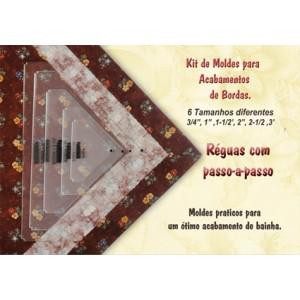 Kit de moldes para acabamento de Bordas (RKK10)