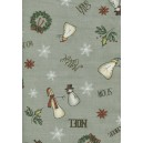 Christmas Whimsy (25208GRY)