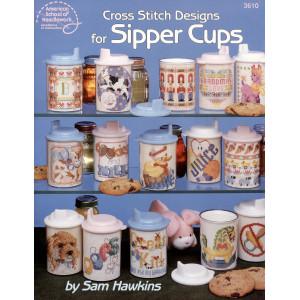 Cross Stitch Designs for Sipper Cups (3610ASN)